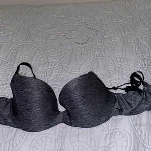 Heather grey Victoria secret pink bra